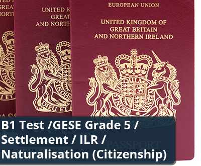 b1 trinity for naturalisation