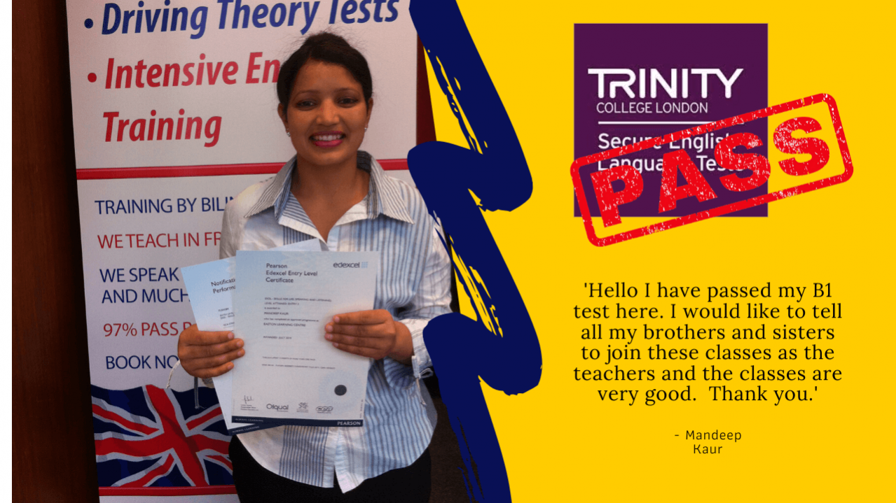 passing the b1 english test for british citizenship