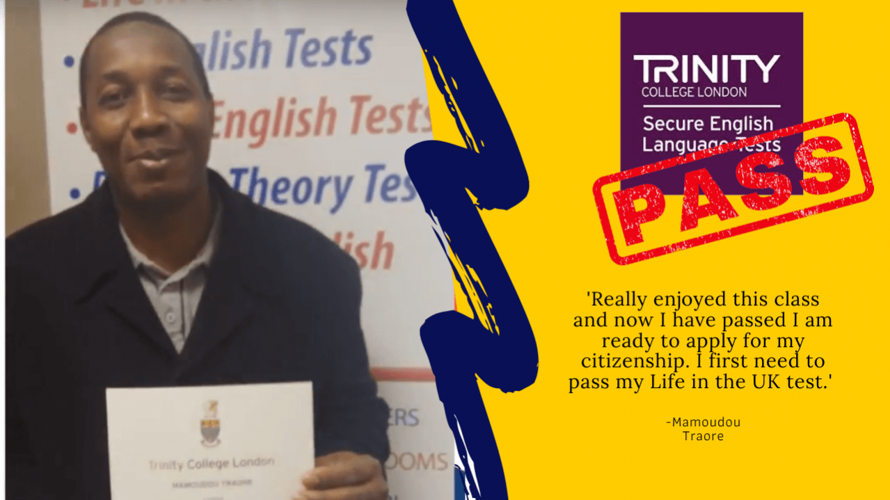 student passed theit b1 english test for british citizenship