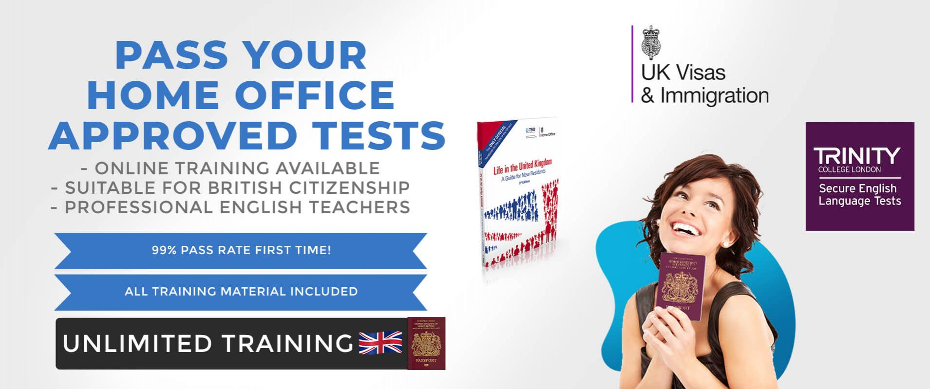 life in the Uk test training online