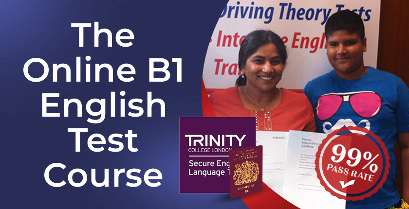 B1 English test group training