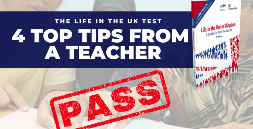 Life in the UK test help from a teacher
