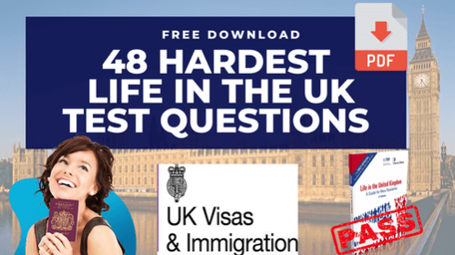 Life in the UK test questions free