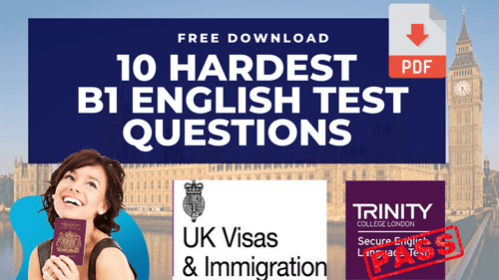 B1 English Test Training