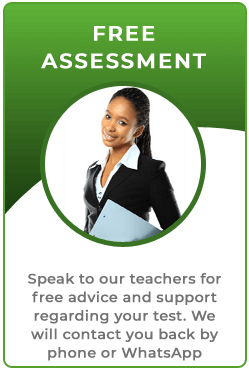 Free assessment with a teacher for fast track training