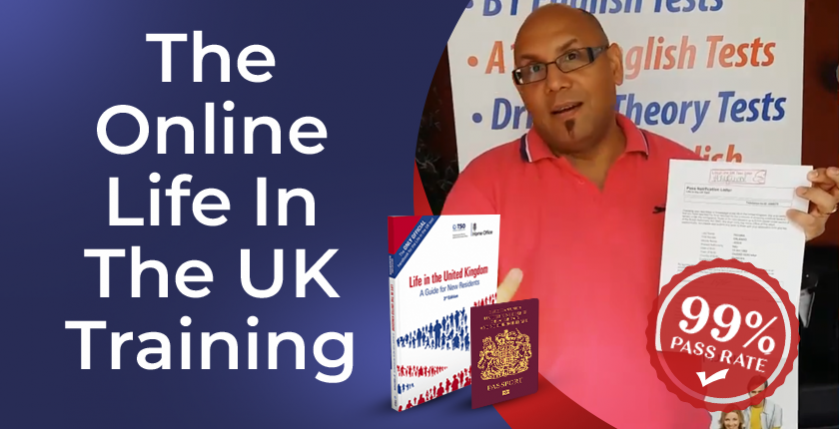 The online Life in the UK test training course
