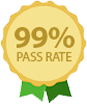 We have a 99 percent pass rate for the Life in the UK test