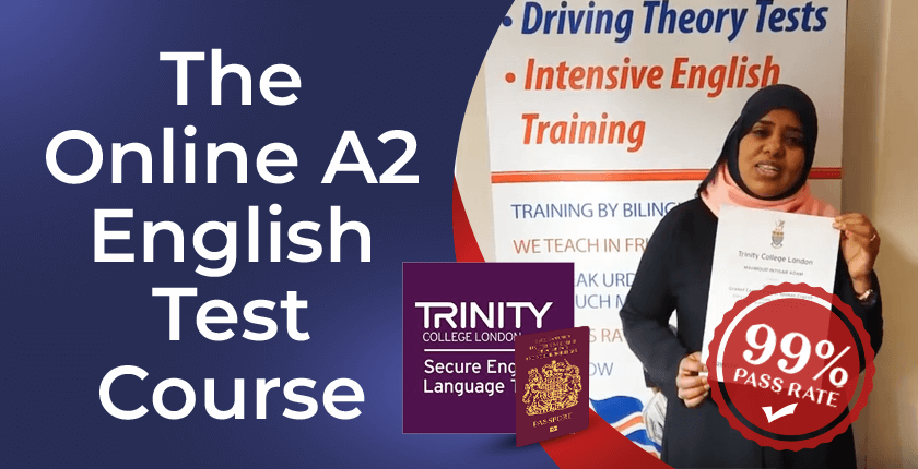 A2 English test group training