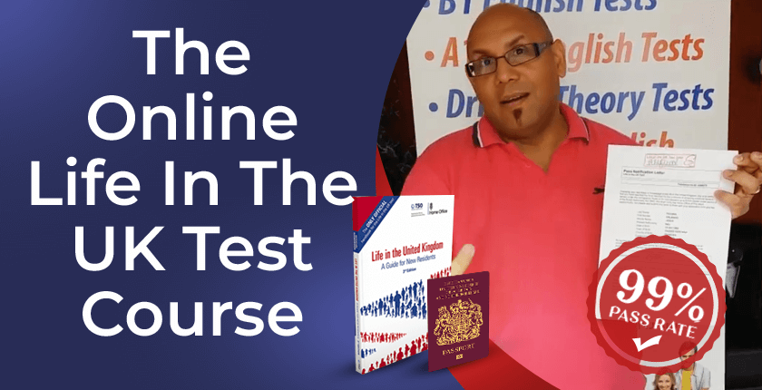 Life in the UK test group training