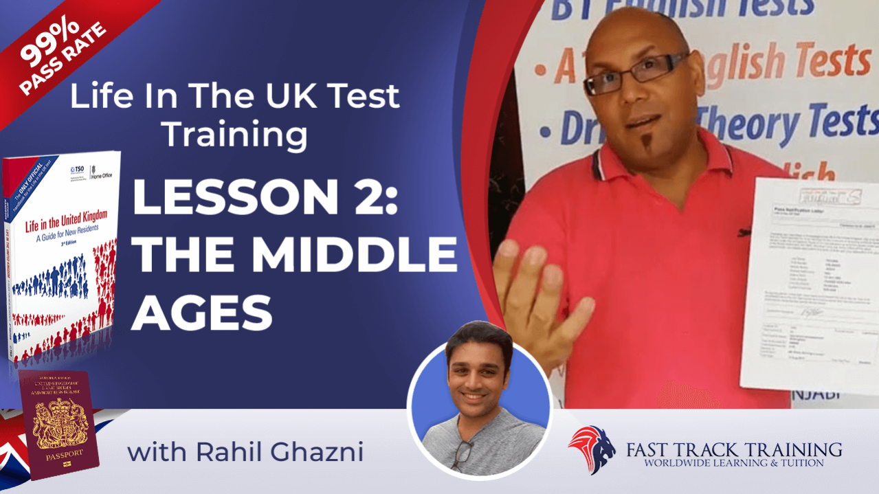 Life in the UK test training online lessons 2