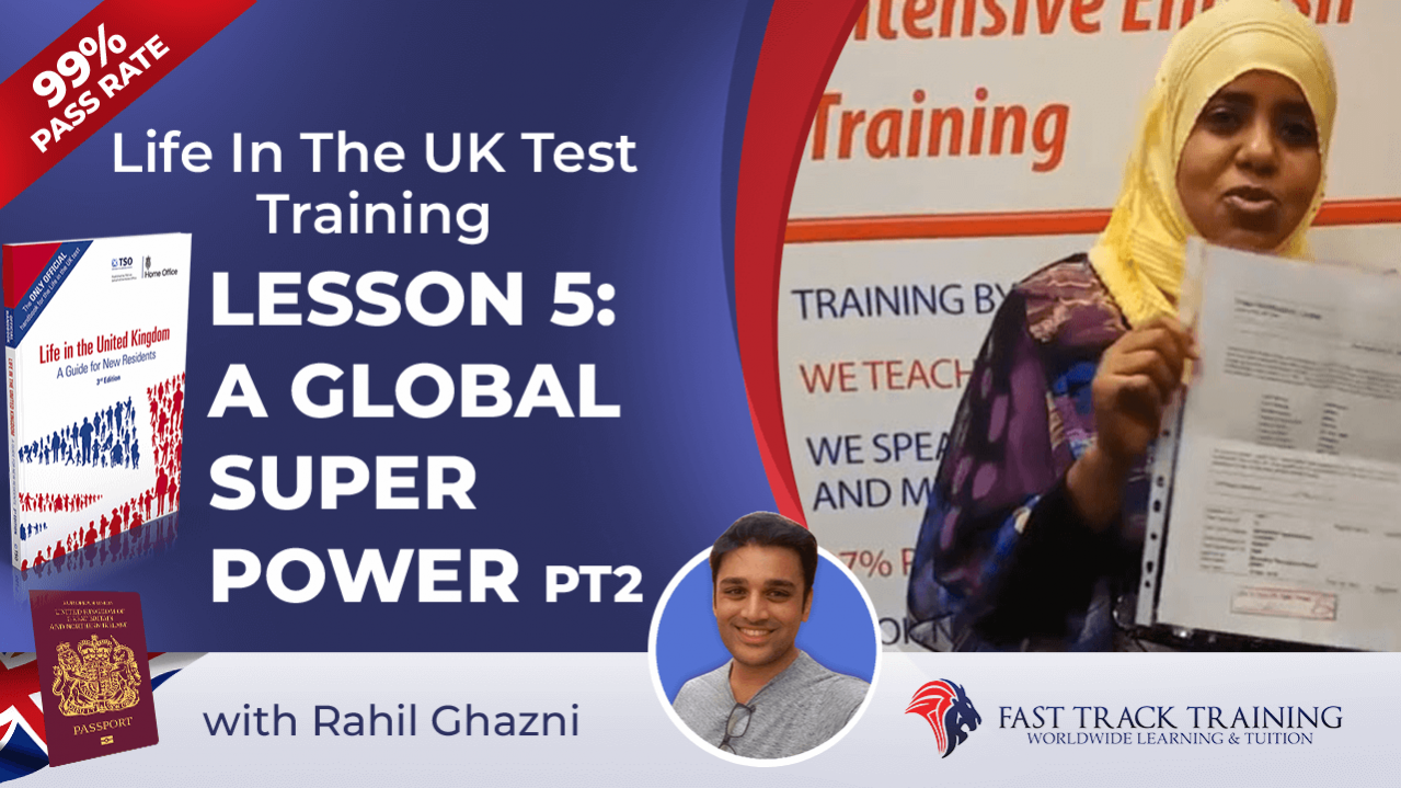 Life in the UK test training online lessons 5