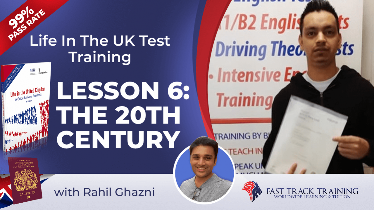 Life in the UK test training online lessons 6