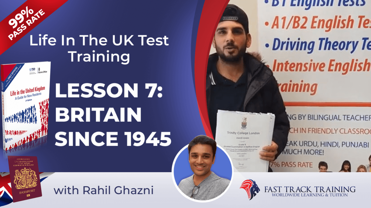 Life in the UK test training online lessons 7