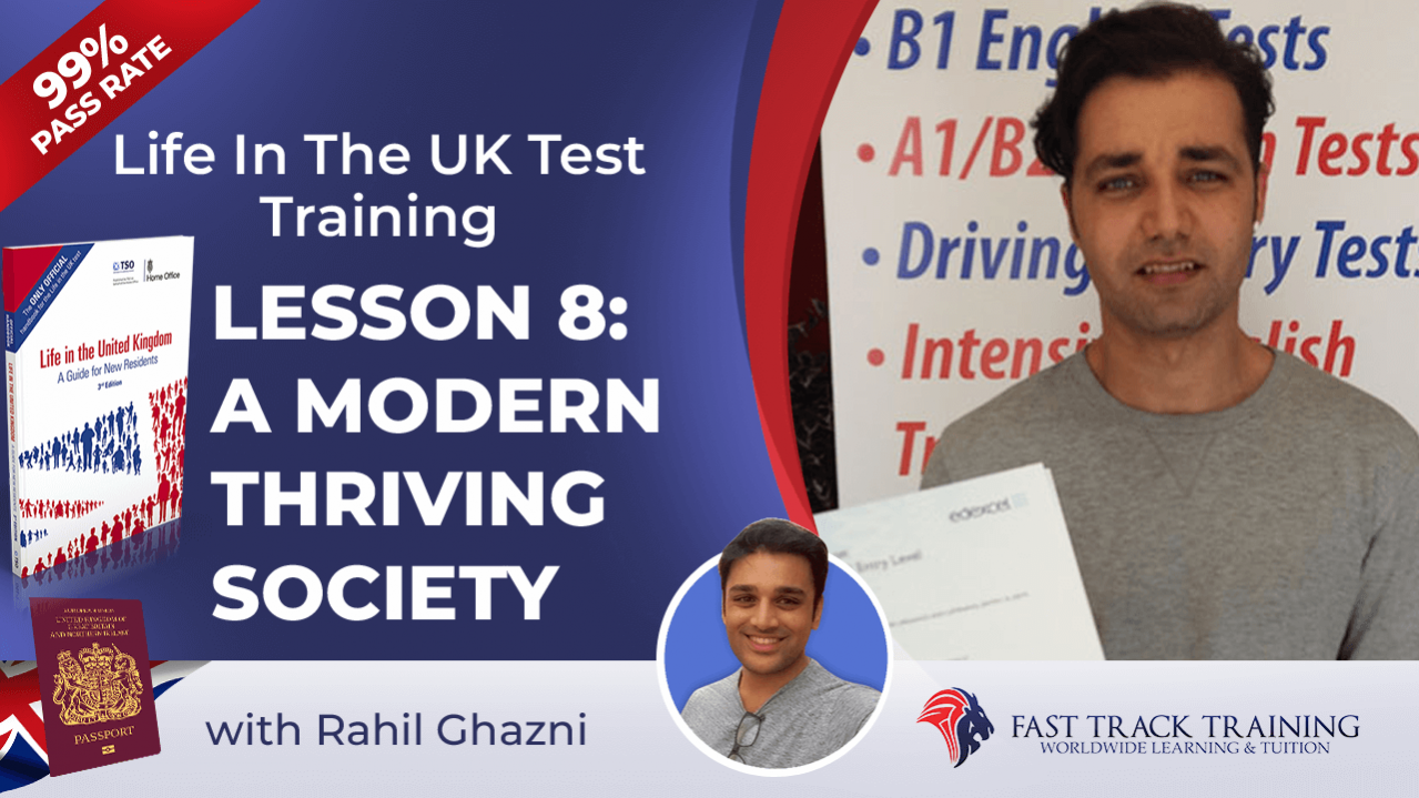 Life in the UK test training online lessons 8