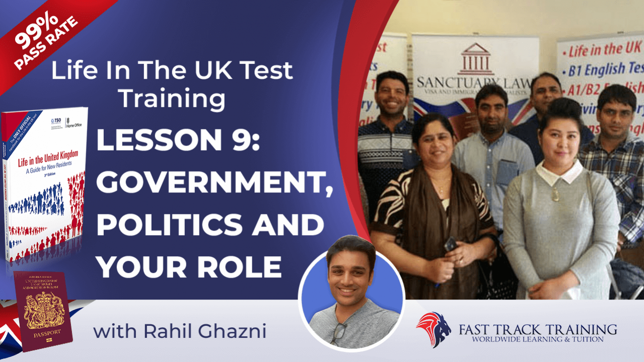 Life in the UK test training online lessons 9