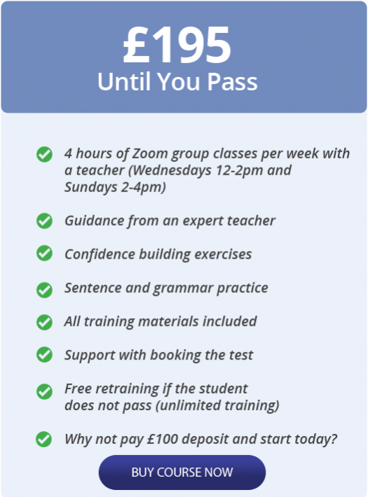 Life in the UK test unlimited training